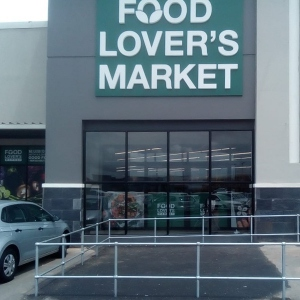 Food Lover's Market project complete