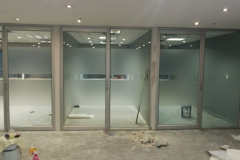 Glass Partition a work in progress