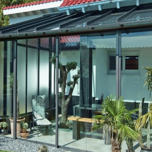 Patio Enclosure with Glass