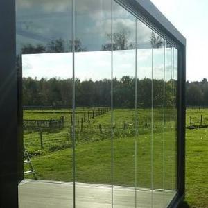 Shopfront with Panel Glass
