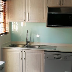 Nice and clean with simple and stylish splashbacks