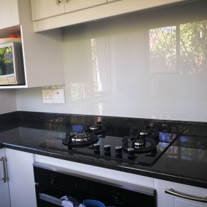 Keeping the kitchen crisp and adding natural light
