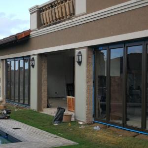 House renovation stacking doors